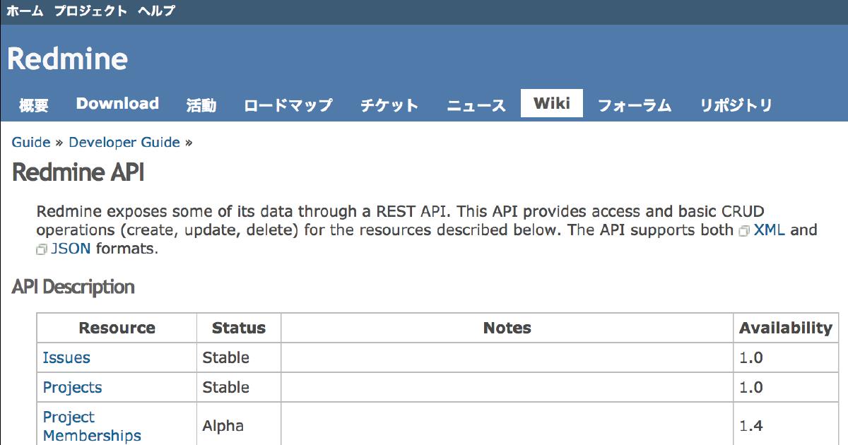 利用・活用 Redmine API - ファーエンドテクノロジー株式会社